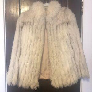 Saga fox fur coat.